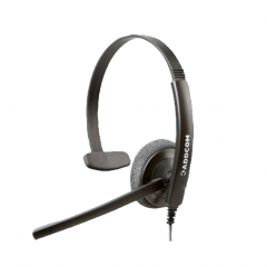 Addcom (ADD-40) Durable Monaural Headset for everyday use
