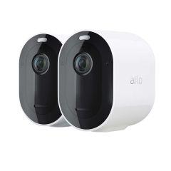 Arlo Pro 4  Wire Free Spotlight Camera 2k HDR 2 Camera Pack VMC4250P-100AUS