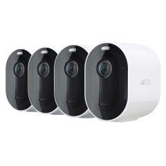 Arlo Pro 4  Wire Free Spotlight Camera 2k HDR 4 Camera Pack VMC4450P-100AUS