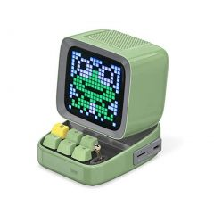 Divoom Ditoo Digital Pixel Art Gaming Bluetooth Speaker - Green