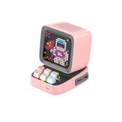 Divoom Ditoo Plus Pixel Art Bluetooth Speaker - Pink