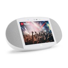 JBL Link View - Smart Display Speaker - White (JBL Refurbished)