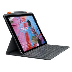 Logitech Slim Folio for iPad (7th & 8th Gen) Keyboard Case
