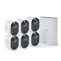 Arlo VMS5640-200AUS Ultra 2 Spotlight 4K Camera (6 Pack)