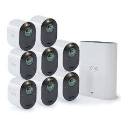 Arlo VMS5840-200AUS Ultra 2 Spotlight 4K Camera (8 Pack)