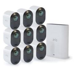 Arlo VMS5940-200AUS Ultra 2 Spotlight 4K Camera (9 Pack)